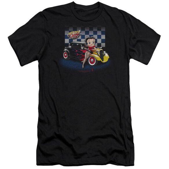 Betty Boop Hot Rod Boop Short Sleeve Adult T-Shirt