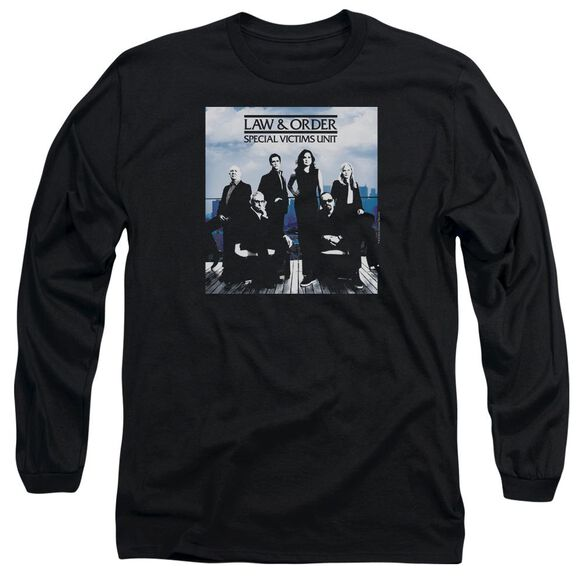 Law And Order Svu Crew 13 Long Sleeve Adult T-Shirt