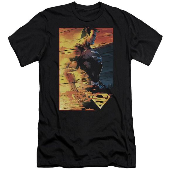 Superman Fireproof Premuim Canvas Adult Slim Fit