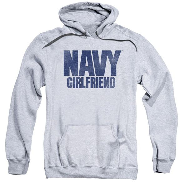 Navy Girlfriend Adult Pull Over Hoodie Athletic