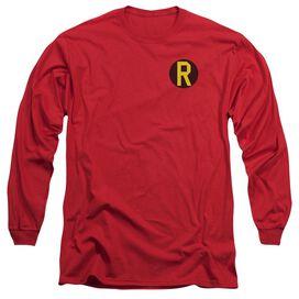DC ROBIN LOGO-L/S T-Shirt