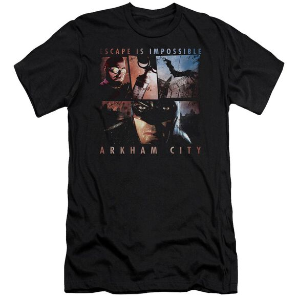 Arkham City Escape Is Impossible Short Sleeve Adult T-Shirt