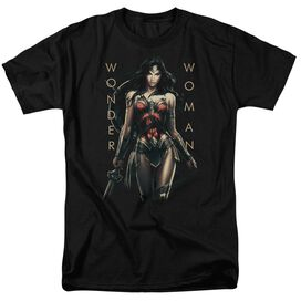 Wonder Woman Movie Armed And Dangerous Short Sleeve Adult T-Shirt