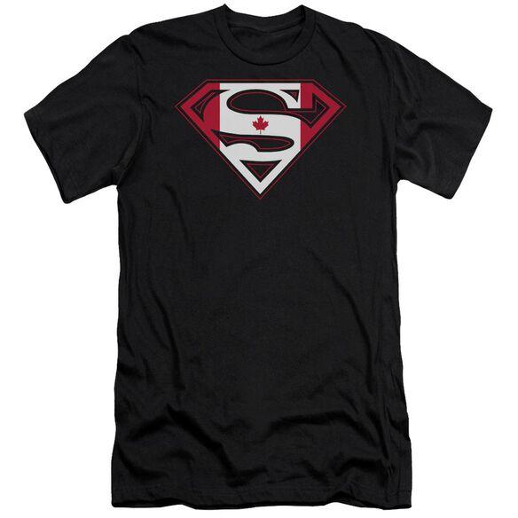 Superman Canadian Shield Premuim Canvas Adult Slim Fit