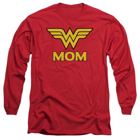 Dco Wonder Mom Long Sleeve Adult T-Shirt