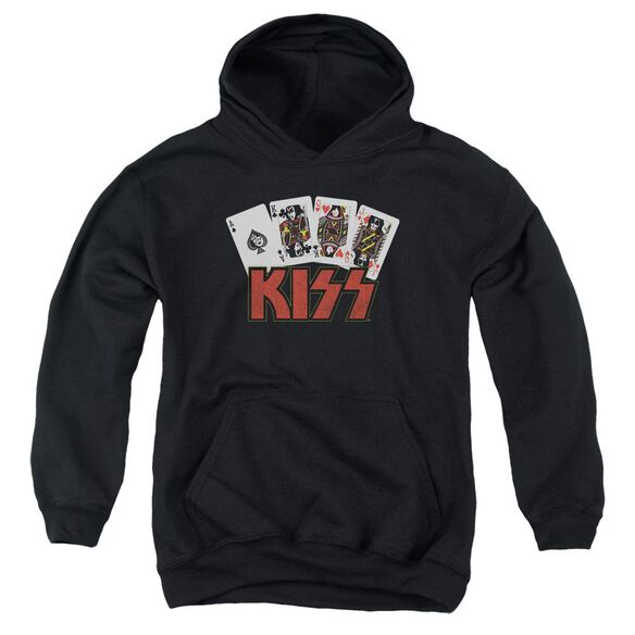 Kiss Cards Youth Pull Over Hoodie