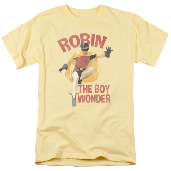 Batman Classic Tv Boy Wonder Short Sleeve Adult Banana T-Shirt