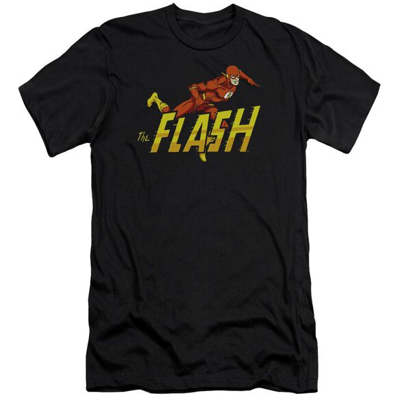 Dc Flash 8 Bit Flash-premuim Canvas Adult Slim