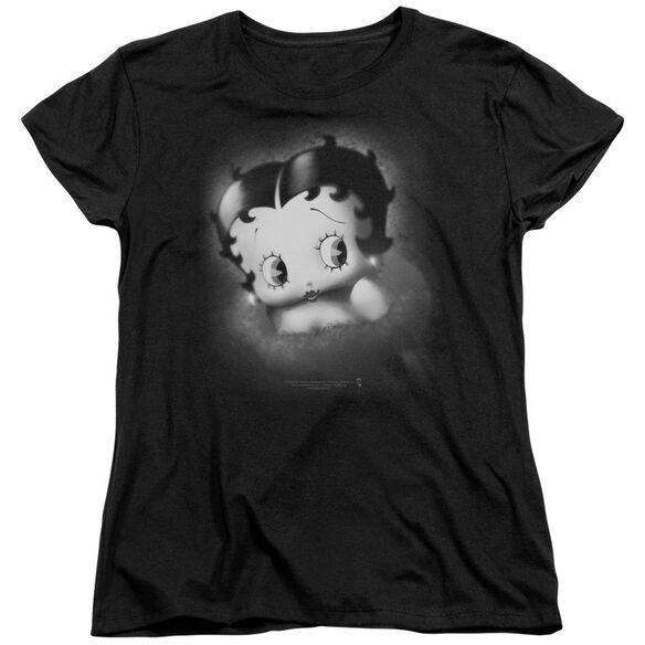 Betty Boop Vintage Star Short Sleeve Womens Tee T-Shirt
