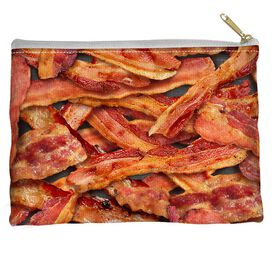 Bacon Collage Accessory Pouch