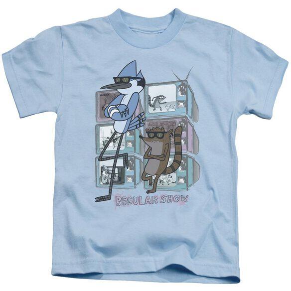 Regular Show Tv Too Cool Short Sleeve Juvenile Light T-Shirt