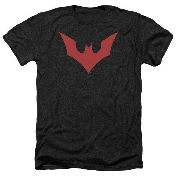 Batman Beyond Beyond Bat Logo Adult Heather