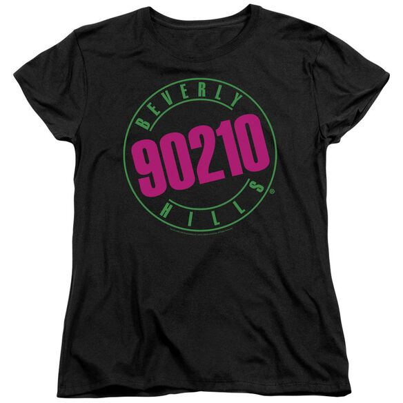 90210 Neon Short Sleeve Womens Tee T-Shirt
