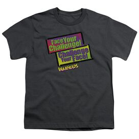 Warheads Face Your Challenge Short Sleeve Youth T-Shirt