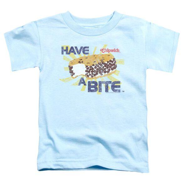 Chipwich Bite Short Sleeve Toddler Tee Light Blue Md T-Shirt