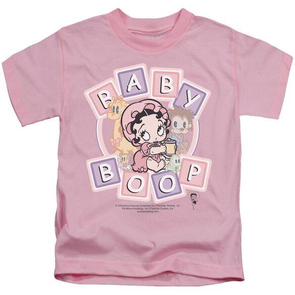 Betty Boop Baby Boop & Friends Short Sleeve Juvenile Pink T-Shirt