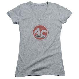 Ac Delco Ac Circle Junior V Neck Athletic T-Shirt