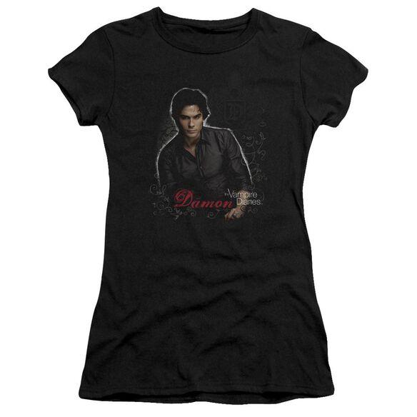 Vampire Diaries Damon Premium Bella Junior Sheer Jersey