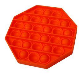 Push Pop - Octagon Bubble Sensory Fidget Toy - Assorted Colors; Teal, Orange, Yellow, Purple