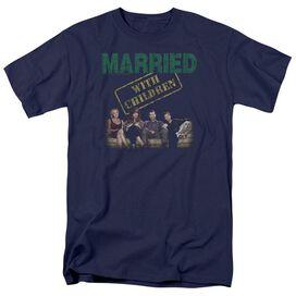 Married With Children Vintage Bundys Short Sleeve Adult T-Shirt