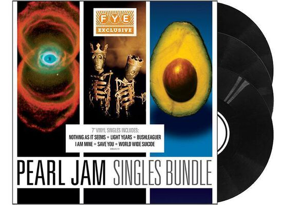 Pearl Jam - Pearl Jam 7 Inch Bundle (Exclusive Collectible Slipcase)