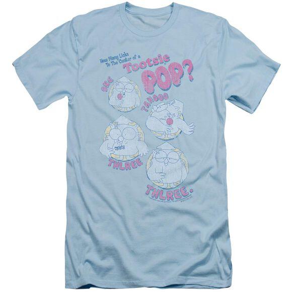 Tootsie Roll Three Short Sleeve Adult Light T-Shirt