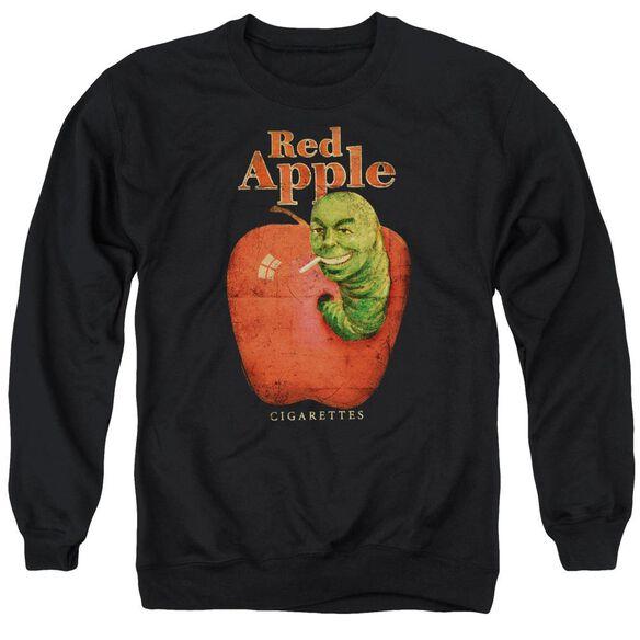 Pulp Fiction Red Apple Adult Crewneck Sweatshirt