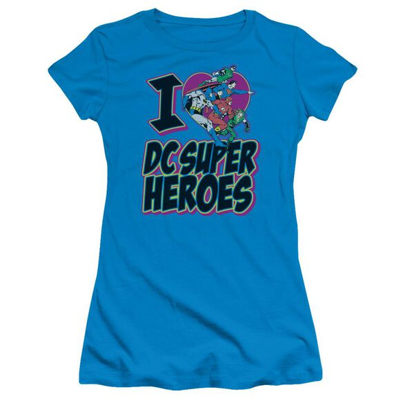 Dc I Heart Dc Short Sleeve Junior Sheer T-Shirt