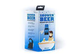 Shower Beer Holder & Bluetooth Speaker