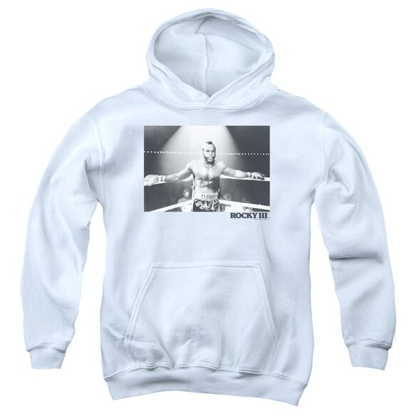Rocky Iii Clubber Square Youth Pull Over Hoodie