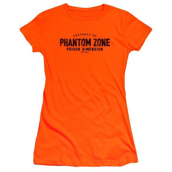 Superman Phantom Zone Premium Bella Junior Sheer Jersey