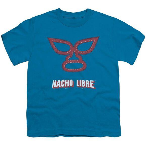 Nacho Libre Mask Short Sleeve Youth T-Shirt
