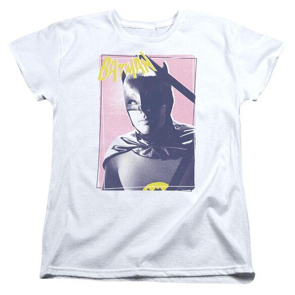 Batman Classic Tv Wayne 80 S Short Sleeve Womens Tee T-Shirt