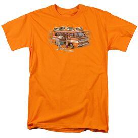 Chevrolet Greenbrier Corvair Sport Wagon Short Sleeve Adult Orange T-Shirt