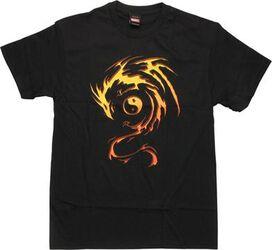 Marvel Shang Chi Master of Kung Fu Symbol T-Shirt