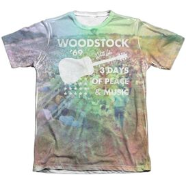 Woodstock On The Hill Adult Poly Cotton Short Sleeve Tee T-Shirt