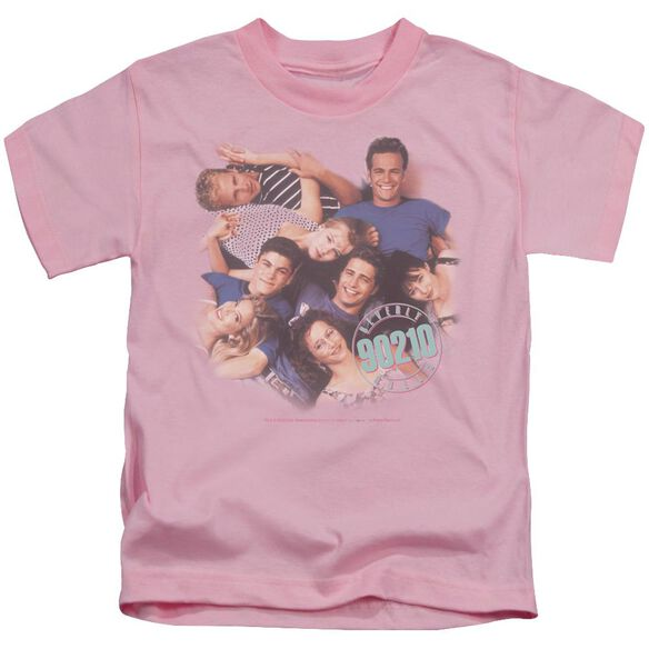 90210 Gang In Logo Short Sleeve Juvenile Pink Md T-Shirt