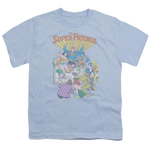 Jla Super Friends #1 Short Sleeve Youth Light T-Shirt