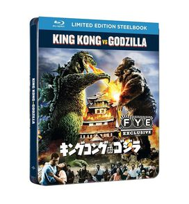 King Kong vs Godzilla [Exclusive Blu-ray Steelbook]