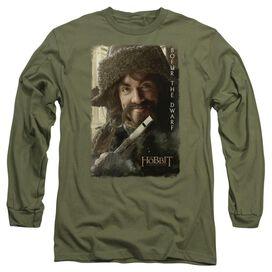 The Hobbit Bofur Long Sleeve Adult Military T-Shirt