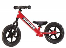 Strider - 12 Sport Balance Bike [Red], Ages 18 Months to 5 Years