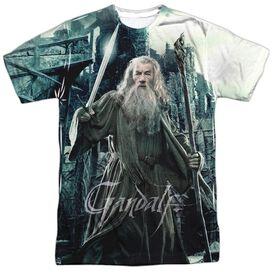 Hobbit Wizard Short Sleeve Adult Poly Crew T-Shirt
