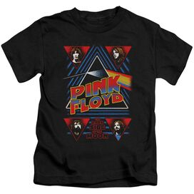 Pink Floyd Dark Side Short Sleeve Juvenile Black T-Shirt