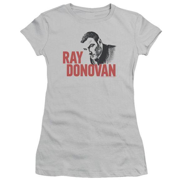 Ray Donovan Logo Short Sleeve Junior Sheer T-Shirt