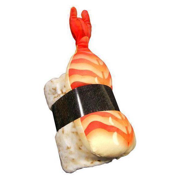 Shrimp Sushi Roll Pillow & Throw Blanket