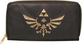 Zelda Skyward Sword Logo Zipper Clutch Wallet