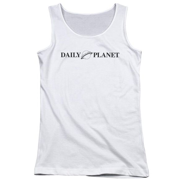 Superman Daily Planet Logo Juniors Tank Top