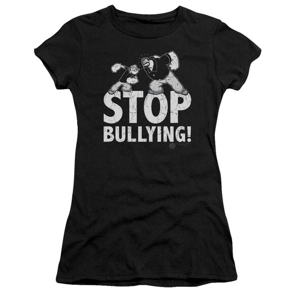 Popeye Stop Bullying Premium Bella Junior Sheer Jersey