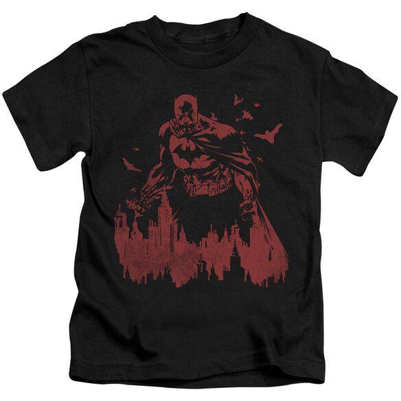BATMAN RED KNIGHT - S/S JUVENILE 18/1 - BLACK - T-Shirt