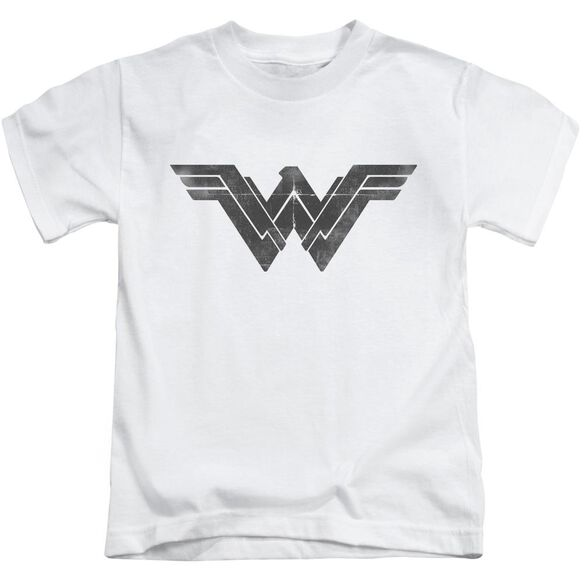 Batman V Superman Folded And Distressed Short Sleeve Juvenile T-Shirt